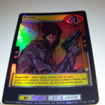 G.I.Joe Trading card Game 2004 114/114 No 114 Zartan (Hologram) @sold@